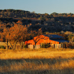 Autumn on Hillingdon Ranch - autumn adorns the hay barn
