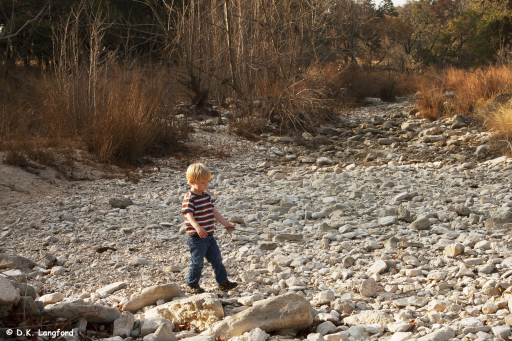 Autumn Drought at Hillingdon Ranch - Dry Block Creek