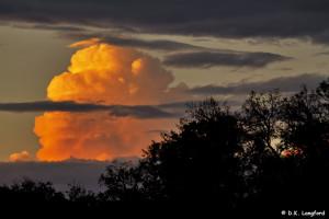 Spring Drought - thunderhead