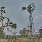Spring Drought at Hillingdon Ranch - lightning but no rain