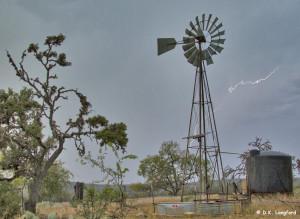 Spring Drought at Hillingdon Ranch - lightning but no rain