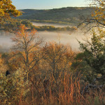 Au18 - fog in Block Creek valley
