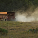 Spring Drought on Hillingdon Ranch - a dusty haul