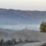 Winter on Hillingon Ranch - Giles Ranch Road at dawn